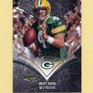 2008 Upper Deck Icons Football #034 Brett Favre - Green Bay Packers