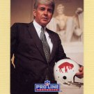 1991 Pro Line Portraits Football #225 Jack Kemp RET - Buffalo Bills