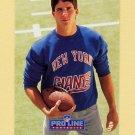 1991 Pro Line Portraits Football #096 Ed McCaffrey RC - New York Giants