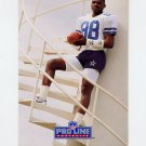 1991 Pro Line Portraits Football #063 Michael Irvin - Dallas Cowboys