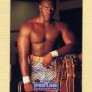 1992 Pro Line Portraits Football #412 Robert Porcher RC - Detroit Lions
