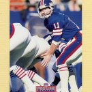 1992 Pro Line Profiles Football #344 Phil Simms - New York Giants