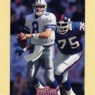 1992 Pro Line Profiles Football #187 Troy Aikman - Dallas Cowboys
