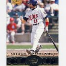 1997 Pinnacle Baseball #188 Chuck Knoblauch CT - Minnesota Twins