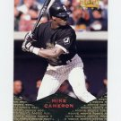 1997 Pinnacle Baseball #166 Mike Cameron - Chicago White Sox