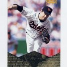 1997 Pinnacle Baseball #155 Mike Mussina - Baltimore Orioles