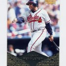 1997 Pinnacle Baseball #138 Terry Pendleton - Atlanta Braves