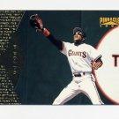 1997 Pinnacle Baseball #097 Barry Bonds - San Francisco Giants