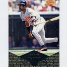 1997 Pinnacle Baseball #065 Eddie Murray - Cleveland Indians