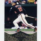 1997 Pinnacle Baseball #043 Rafael Palmeiro - Baltimore Orioles