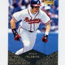 1997 Pinnacle Baseball #038 Ryan Klesko - Atlanta Braves