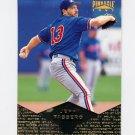 1997 Pinnacle Baseball #010 Jeff Fassero - Seattle Mariners