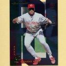 1997 Donruss Baseball Gold Press Proofs #221 Eduardo Perez - Cincinnati Reds