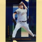 1997 Donruss Baseball Gold Press Proofs #203 Fernando Valenzuela - San Diego Padres