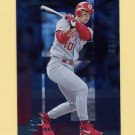 1997 Donruss Baseball Silver Press Proofs #143 Eddie Taubensee - Cincinnati Reds