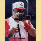 1997 Donruss Baseball Silver Press Proofs #100 Reggie Sanders - Cincinnati Reds