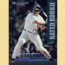 1997 Donruss Baseball Rated Rookies #16 Raul Casanova - Detroit Tigers
