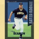 1997 Donruss Baseball Rated Rookies #04 Trey Beamon - Pittsburgh Pirates
