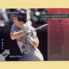 1997 Donruss Baseball #268 Paul Molitor CL - Minnesota Twins