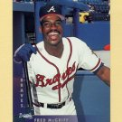 1997 Donruss Baseball #170 Fred McGriff - Atlanta Braves