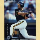 1997 Donruss Baseball #155 Jermaine Allensworth - Pittsburgh Pirates