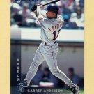 1997 Donruss Baseball #141 Garret Anderson - Anaheim Angels