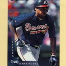 1997 Donruss Baseball #111 Jermaine Dye - Atlanta Braves