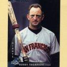 1997 Donruss Baseball #101 Robby Thompson - San Francisco Giants