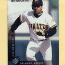 1997 Donruss Baseball #077 Orlando Merced - Pittsburgh Pirates