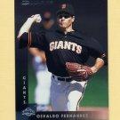 1997 Donruss Baseball #030 Osvaldo Fernandez - San Francisco Giants