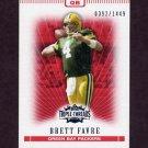 2007 Topps Triple Threads Football #010 Brett Favre - Green Bay Packers /1449