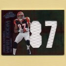 2008 Absolute Memorabilia War Room Materials Oversize Jersey Number #01 Andre Caldwell /25