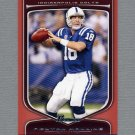 2009 Bowman Draft Football Orange #012 Peyton Manning - Indianapolis Colts