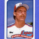 1989 Topps Baseball #647 Randy Johnson RC - Montreal Expos