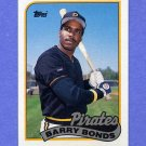 1989 Topps Baseball #620 Barry Bonds - Pittsburgh Pirates NM-M