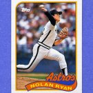 1989 Topps Baseball #530 Nolan Ryan - Houston Astros