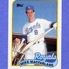 1989 Topps Baseball #479 Mike Macfarlane RC - Kansas City Royals