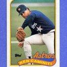 1989 Topps Baseball #369 Ken Caminiti - Houston Astros