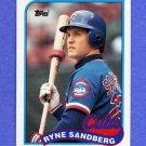 1989 Topps Baseball #360 Ryne Sandberg - Chicago Cubs