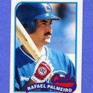 1989 Topps Baseball #310 Rafael Palmeiro - Chicago Cubs