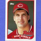1989 Topps Baseball #264 Rob Dibble RC - Cincinnati Reds