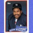 1989 Topps Baseball #260 Dave Winfield - New York Yankees
