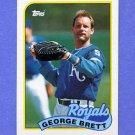 1989 Topps Baseball #200 George Brett - Kansas City Royals NM-M