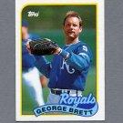 1989 Topps Baseball #200 George Brett - Kansas City Royals ExMt