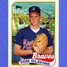 1989 Topps Baseball #157 Tom Glavine - Atlanta Braves