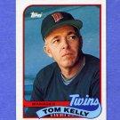 1989 Topps Baseball #014 Tom Kelly MG / Minnesota Twins Team Checklist