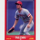 1988 Score Baseball #304 Paul O'Neill - Cincinnati Reds