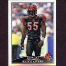 2009 Topps Chrome Football Refractors #TC033 Keith Rivers - Cincinnati Bengals