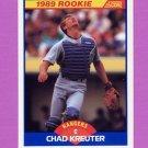 1989 Score Baseball #638 Chad Kreuter RC - Texas Rangers
