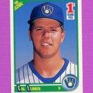 1990 Score Baseball #669 Cal Eldred RC - Milwaukee Brewers